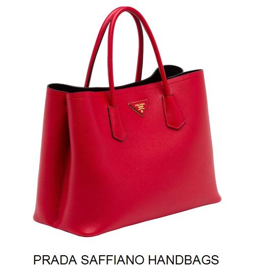 Prada Saffiano Handbags